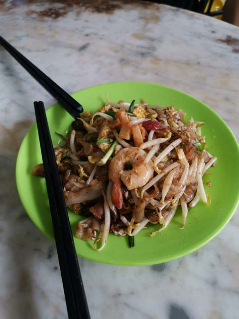 Nationalgericht Char kway teow
